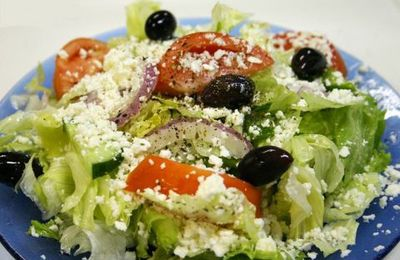 Salade grecque (Greek salad)