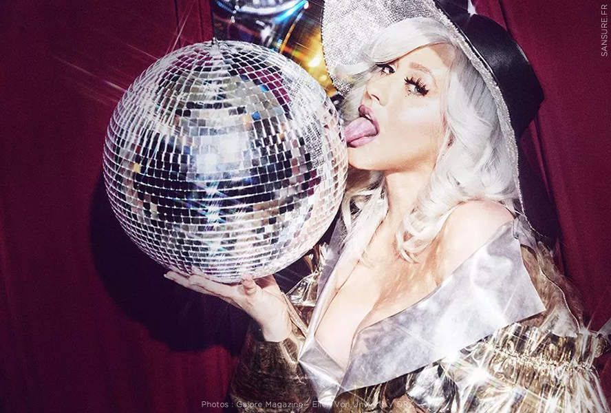 Le retour sulfureux de Christina Aguilera dans Galore Magazine ! (Diaporama) #sexy