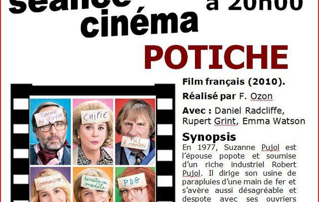POTICHE - séance cinéma - Mardi 11 janvier 2011 - Aigueperse