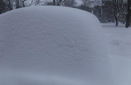 La tempête de neige