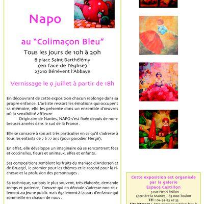 """ESPACE CASTILLON : Napo au """"Colimaçon Bleu"""""""