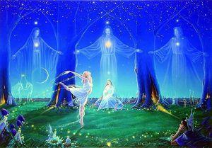 Le vent d'Amour et d'Innocence  : espoir d'un monde meilleur pour les générations à venir.