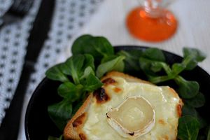 Croque Monsieur Chèvre - Moutarde