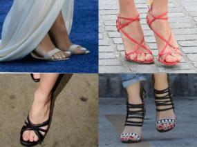 Catalogue les pieds ou les sandales