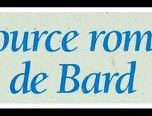 Source de Bard, vers la Vallée des Saints ...