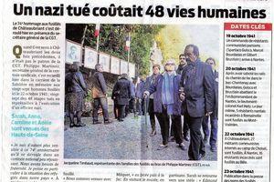 Commémoration de Chateaubriant - 25 octobre2015