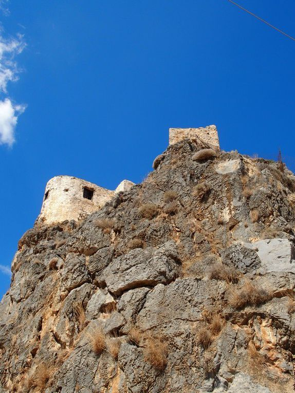 le monastère Moni Kapsa ....