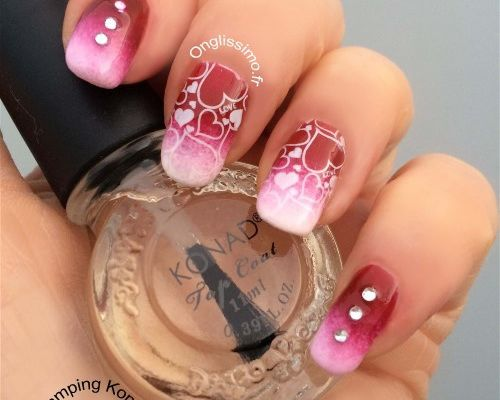 DIY Nail Art Saint Valentin ♥