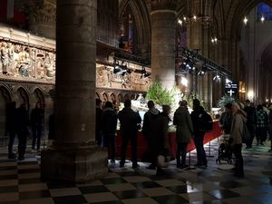 Crèche à Notre Dame de Paris