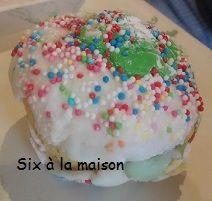 Cupcake pistache et chocolat à base de crème dessert - Petits goûters maison
