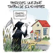 Pesticides et riverains, assez de tartufferies !