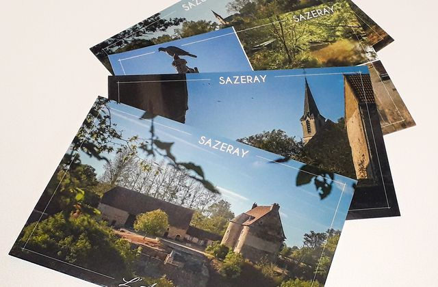 Cartes postales Sazeray