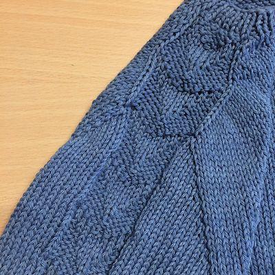 pull Nappa , test knit