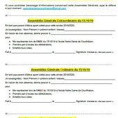 6_APEL_19/20 : Courrier info AG du 15/10/19 - Ecole Notre-Dame Courthezon