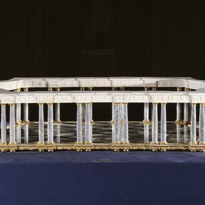 Un jour une oeuvre (568) : Jean-Jacques Bachelier, Surtout de table