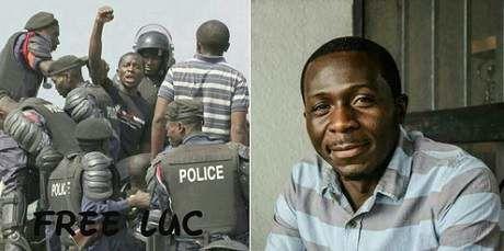 Imágenes del difunto Luc Nkulula, uno de los fundadores del movimiento congoleño Lutte pour le Changement (Luche).- El Muni.