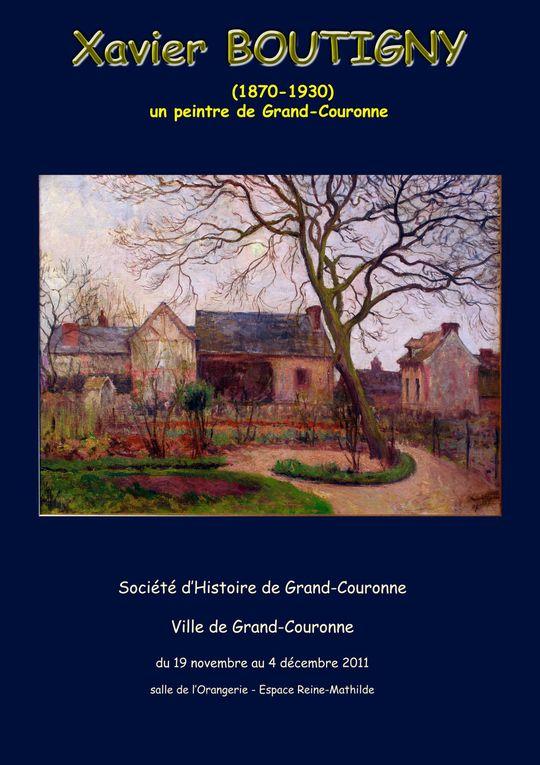 Album - Tableaux de l'exposition Xavier Boutigny