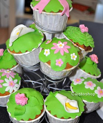 Photos de l'atelier démo Cupcakes de Cuistoshop