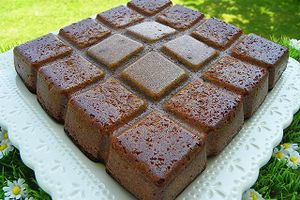 JEU INTERBLOGS n° 28 : La Recette BROWNIE AU CHOCOLAT ET GRAND MARNIER (thermomix )