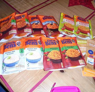 Uncle Ben's Express-Reis im Test....