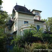 Le Parc de la Tête d'Or et ses belles demeures (12 photos à cliquer) - Le blog de Bernard Moutin
