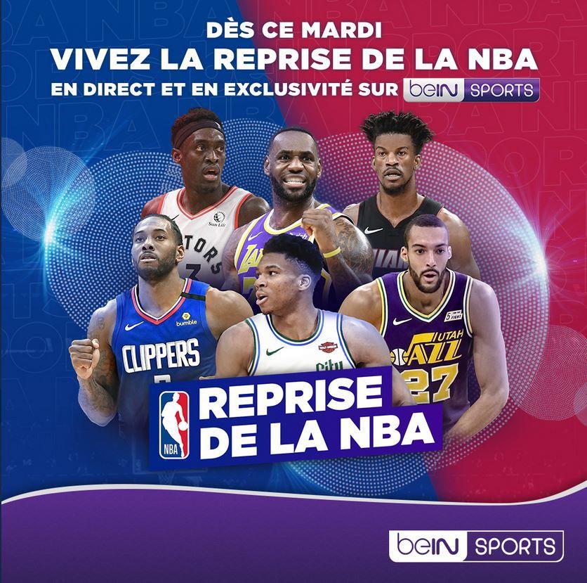 beIN SPORTS diffusera la NBA jusqu'en 2024 !