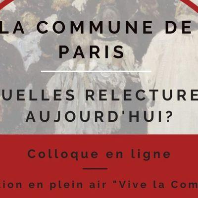 """Colloque en ligne """"La Commune. Quelles relectures aujourd'hui ?"""" La séance du 8 mai porte sur Rosa Luxemburg et la Commune et sur la dette et le crédit."""