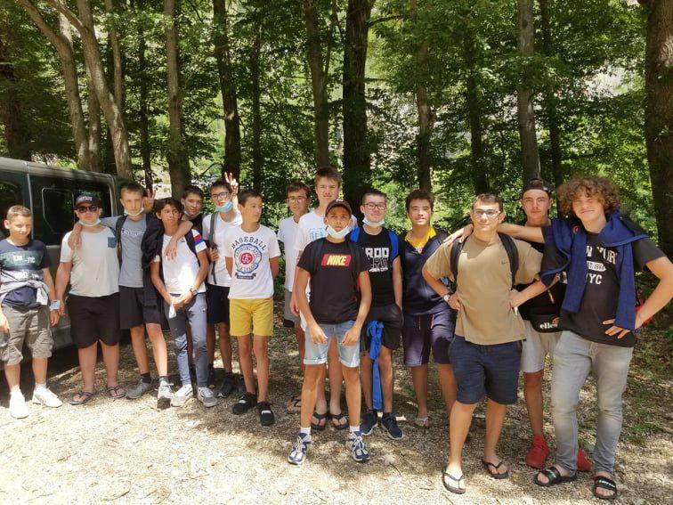 Camp Ste-Énimie 2021 : Samedi 31 juillet