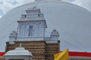Anuradhapura (3) ... Les sites bouddhistes de l'ancienne Capitale (377 av. JC - 1017 ap. JC)