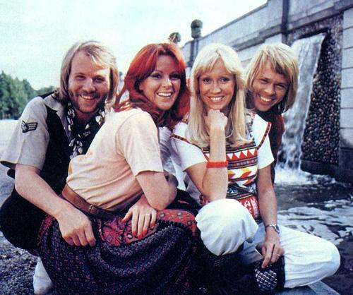 abba, une formation suédoise qui révolutionna le monde de la pop voilà 40 ans