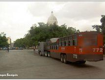 Transports en commun pas communs ... à la Havane