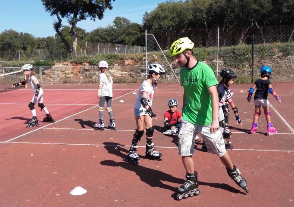 Roller Lib, Club, roller, Nîmes, cours, enfant, roller, patin, quad, apprendre, école, Gard