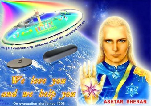 Message d'Ashtar : Relier les points - 10/07/2021.