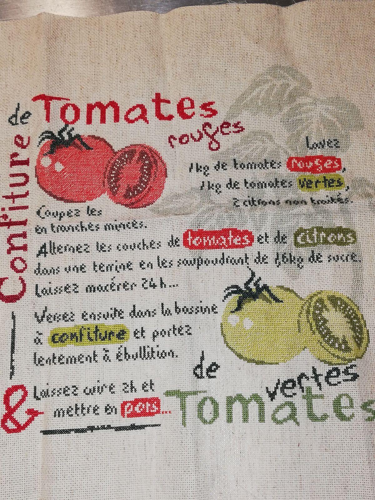 LLP Confiture de Tomates suite