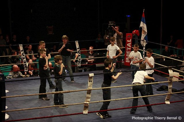 """Boxe in défi XIII Chorégraphie """"The bad boys"""""""
