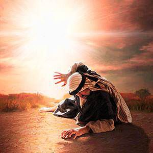 Saul, aveuglé par le Christ Jésus ressuscité