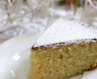 Gâteau à la semoule et au parfum d'orange