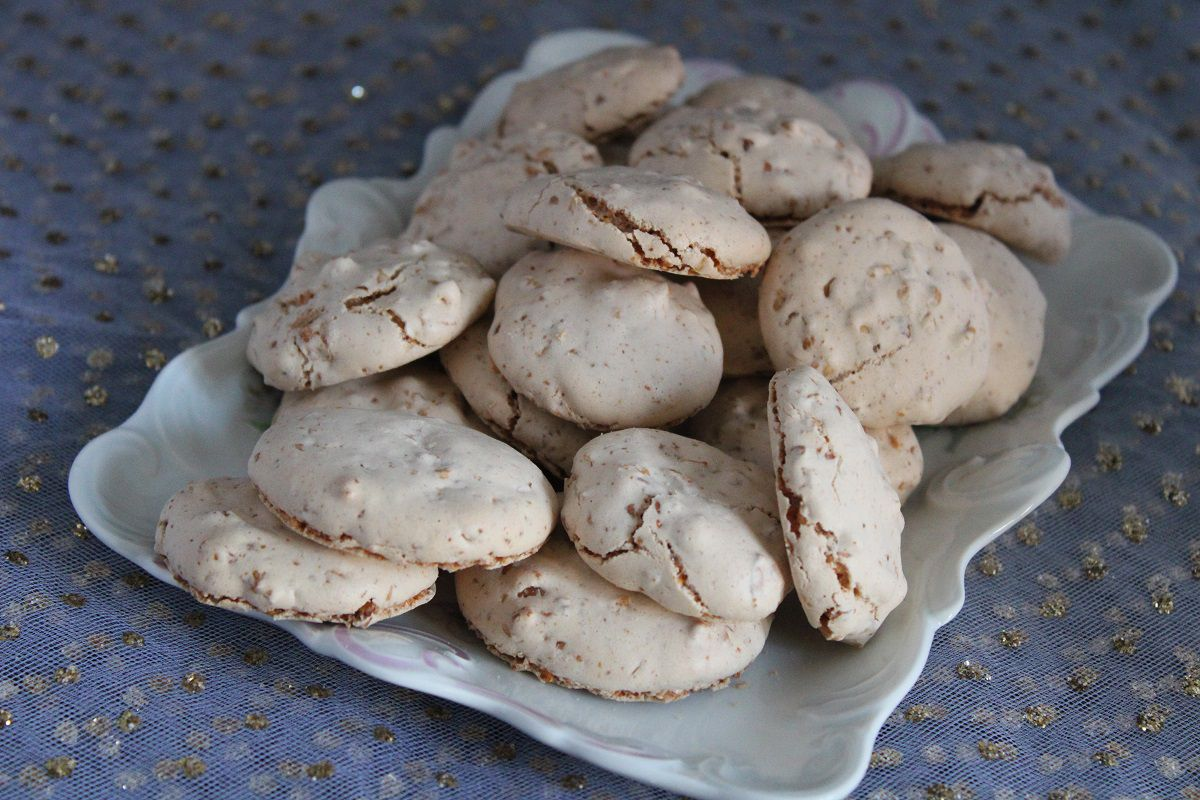 Macarons aux cacahuètes (ful sudani)