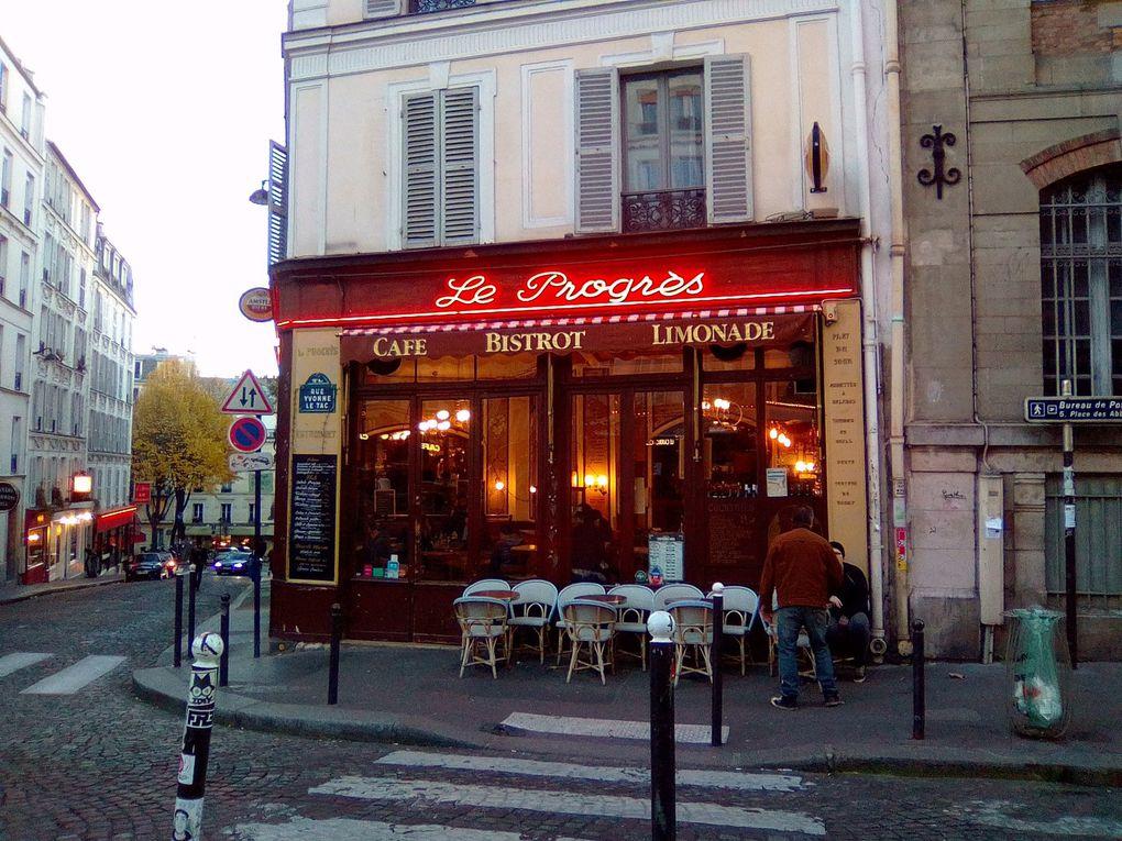 Montmartre au début de l'hiver !