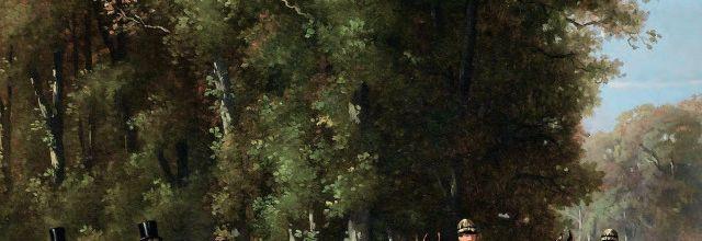 Chevaux et voitures sous Napoléon III. Pferde und wagen zur Zeit von Napoléon III