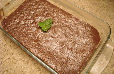 Gâteau menthe chocolat