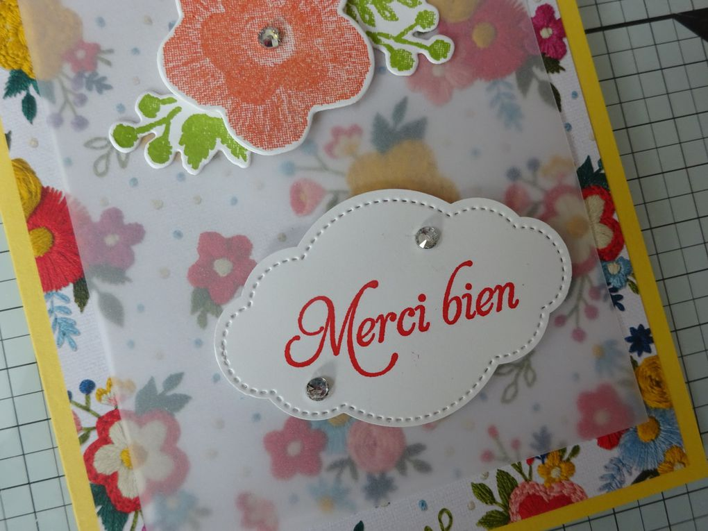 Stampin'up!® collection Coin de Broderie
