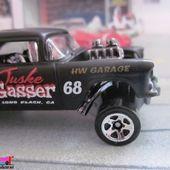 55 CHEVY BEL AIR GASSER HOT WHEELS 1/64 - car-collector.net