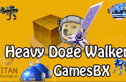 Heavy Doge Walker on Titan in Dogeminer2