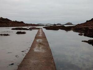 Saint Enogat - Février en gris dans l'entre-deux des marées.