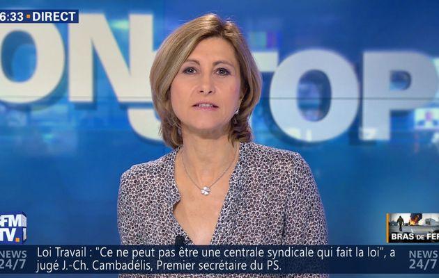 FLORENCE DUPRAT pour NON-STOP le 2016 05 24 sur BFM TV