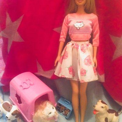 Barbie et les animaux