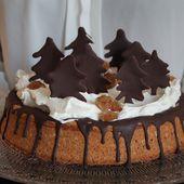 Gâteau de Noël sans gluten - Izakitchen