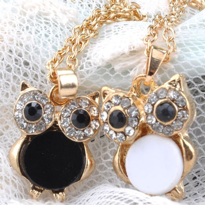 Charming Vintage Owl Pendant  (34) $4.99 free shipping You save 82% off the regular price of $29.00
