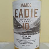 James Eadie - Miltonduff 10Y - Passion du Whisky